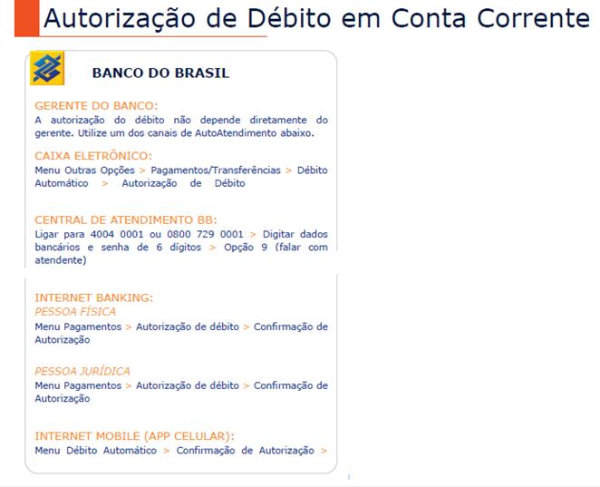 584d0e8e69 Autorização de débito Banco do Brasil